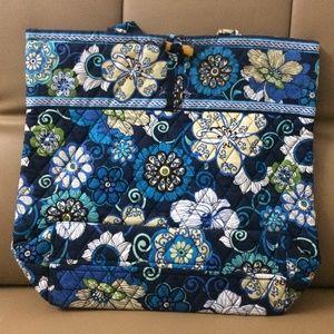 NWOT Vera Bradley Tote Bag Mod Floral Blue